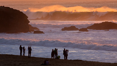Montara Surf Sunset 2876
