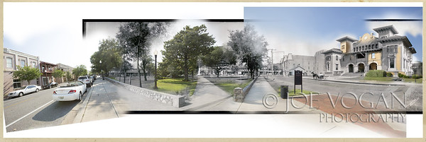 Plaza and City Park (1909 and 2013)