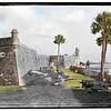Castillo de San Marcos (circa 1890-1910 and 2010)