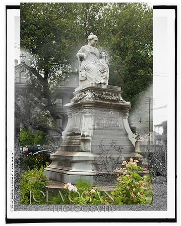 Margaret Statue (circa 1900-06 and 2012)