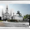 St. Louis Cathedral (circa 1900 and 2012)