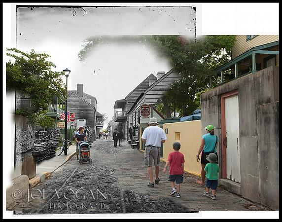 St. Augustine (circa 1861-69 and 2010)