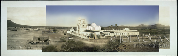 Mission San Xavier del Bac (circa 1913 and 2013)