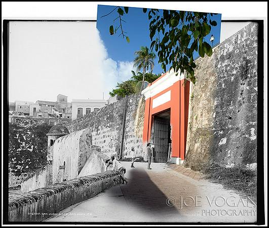 San Juan Gate (circa 1903 and 2010)