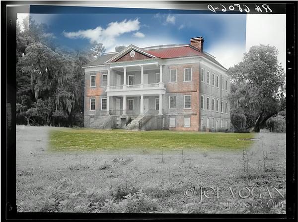 Drayton Hall Plantation (1936 and 2013)