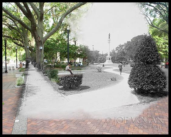 Hemming Plaza (circa 1910-20 and 2010)