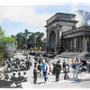 Music Pavilion, Golden Gate Park, San Francisco, California (circa 1902 and 2015)