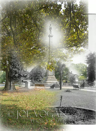 Confederate Monument (circa 1900-10 and 2013)