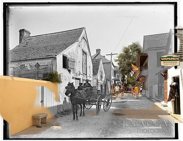 Charlotte Street (circa 1901 and 2010)