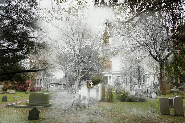 St. Phillip's Episcopal Church Cemetery (circa 1900 and 2013)
