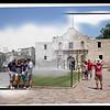 The Alamo (circa 1900-1920 and 2011)