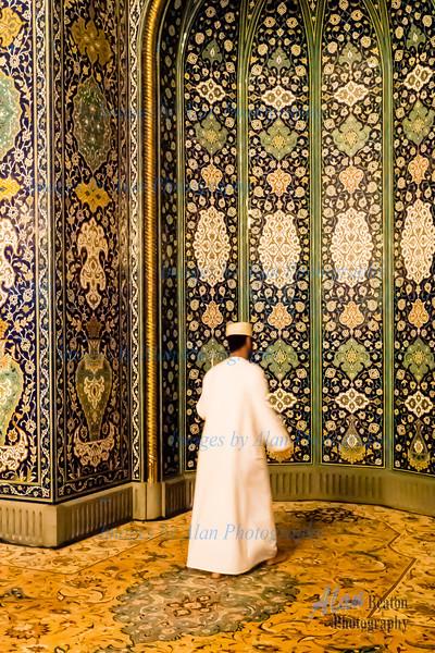 Morning Prayer, Grand Mosque, Muscat, Oman
