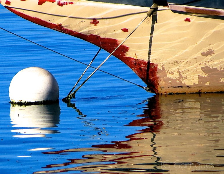 Reflected Boat
