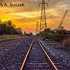 Sunrise over Tracks