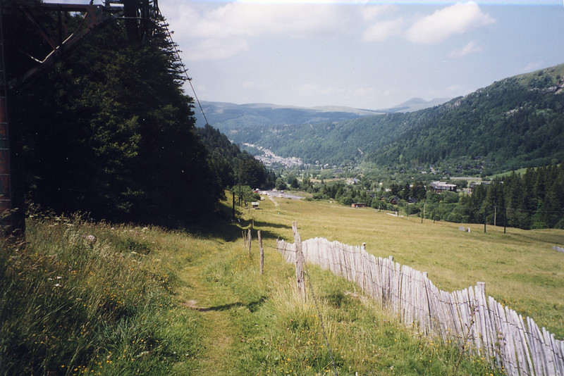 Looking down the Mont d'Or valley