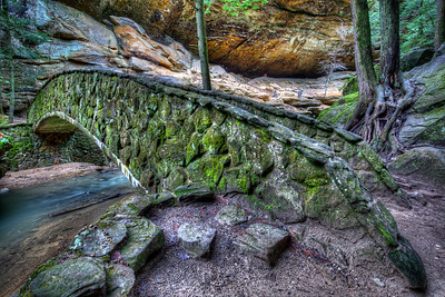Old Man's Cave Bridge
