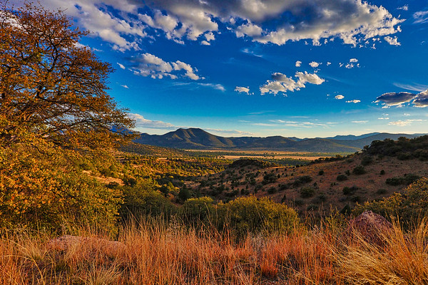 End of Day In Davis Mountains