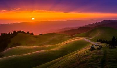 Mt Tamalpais Sunset