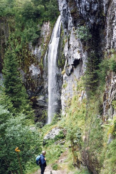 Graeme at la Grande Cascade