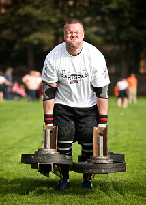 Highland Festival of Strength, Lewis Mitchell Lifts 130kg in the medley.  Picture Paul Campbell