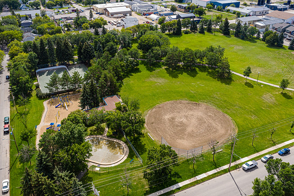 Optimist Park Aerial