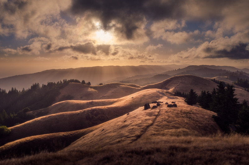 Mt Tamalpais Sunset