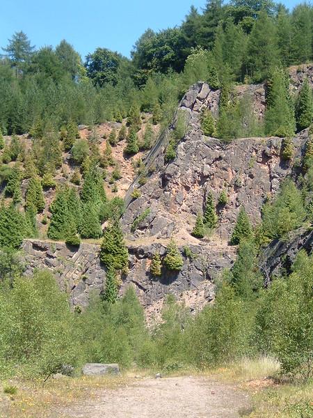 Shake Mantle Quarry
