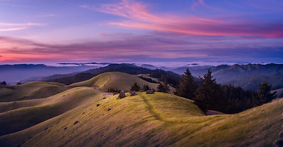 Mt Tamalpais Evening