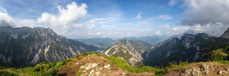 Slemenova Špica : a wonderful viewpoint close to Vršič