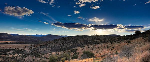 Davis Mountain Sunset