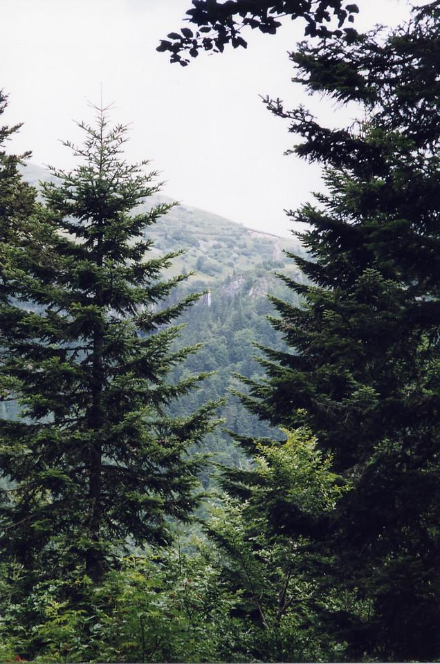 La Grande Cascade from the funicular