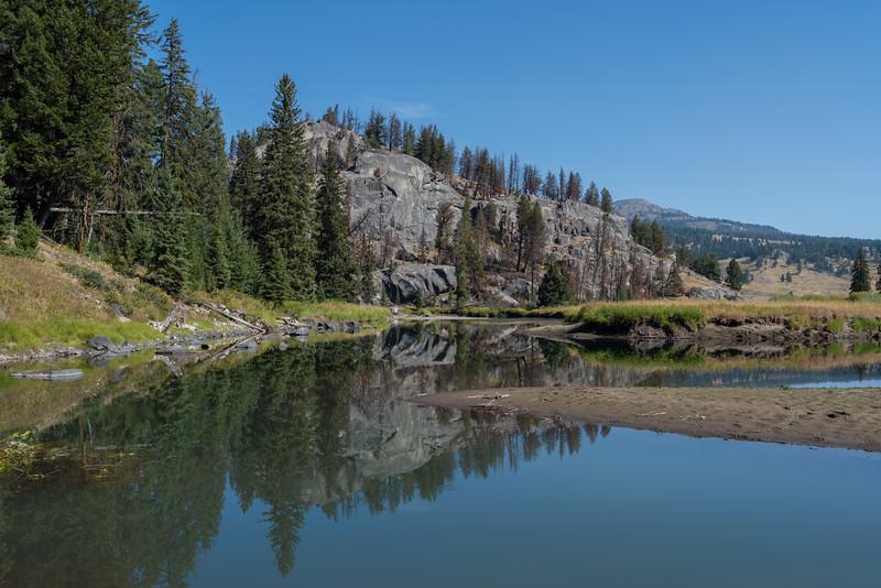 Reflection - Yellowstone 2017