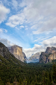 Tunnel View Storm - Yosemite-4