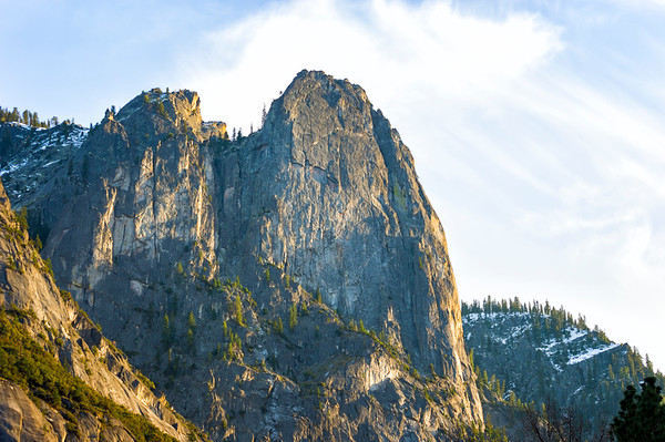 Sentinel Rocks - Yosemite