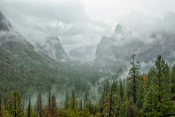 Tunnel View Storm - Yosemite