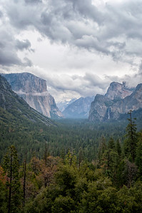 Tunnel View Storm - Yosemite-3