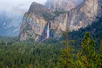 Bridalveil Fall Rainbow - Yosemite