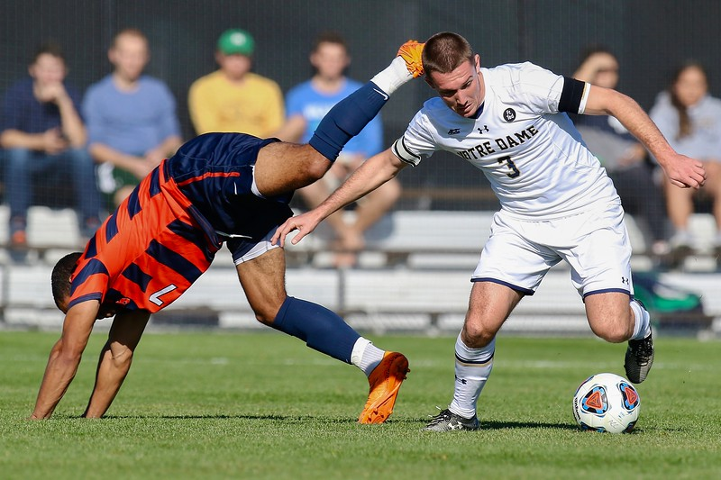 Notre Dame vs Syracuse (Men's ACC soccer finals 2015) won by Syracuse 1-0