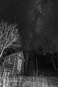 This old structure was built in the 1860s.  The stars were so bright.  -BP-