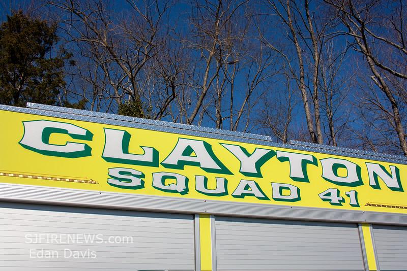 Clayton, Gloucester County NJ, Squad 41-18, 2015 E-One Typhoon 1590-750-Jaws (C) Edan Davis, www sjfirenews (14)