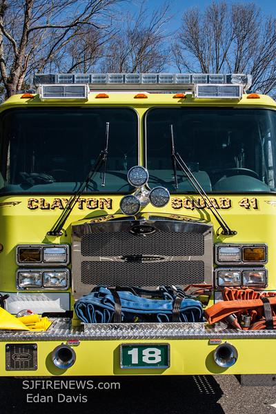 Clayton, Gloucester County NJ, Squad 41-18, 2015 E-One Typhoon 1590-750-Jaws (C) Edan Davis, www sjfirenews (9)