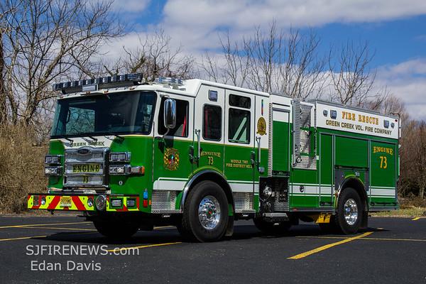 Green Creek, Cape May County NJ, Engine 73, 2018 Pierce Enforcer PUC, 1500-750, (C) Edan Davis, www sjfirenews (4)