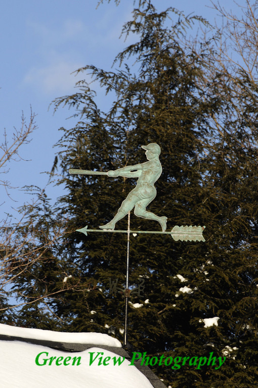 Babe Ruth's House - weather vane