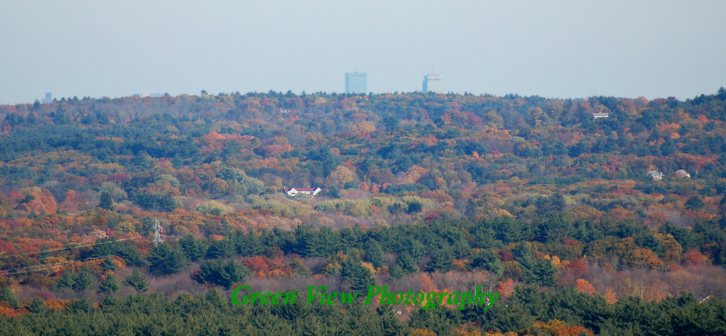 Boston in the Distance