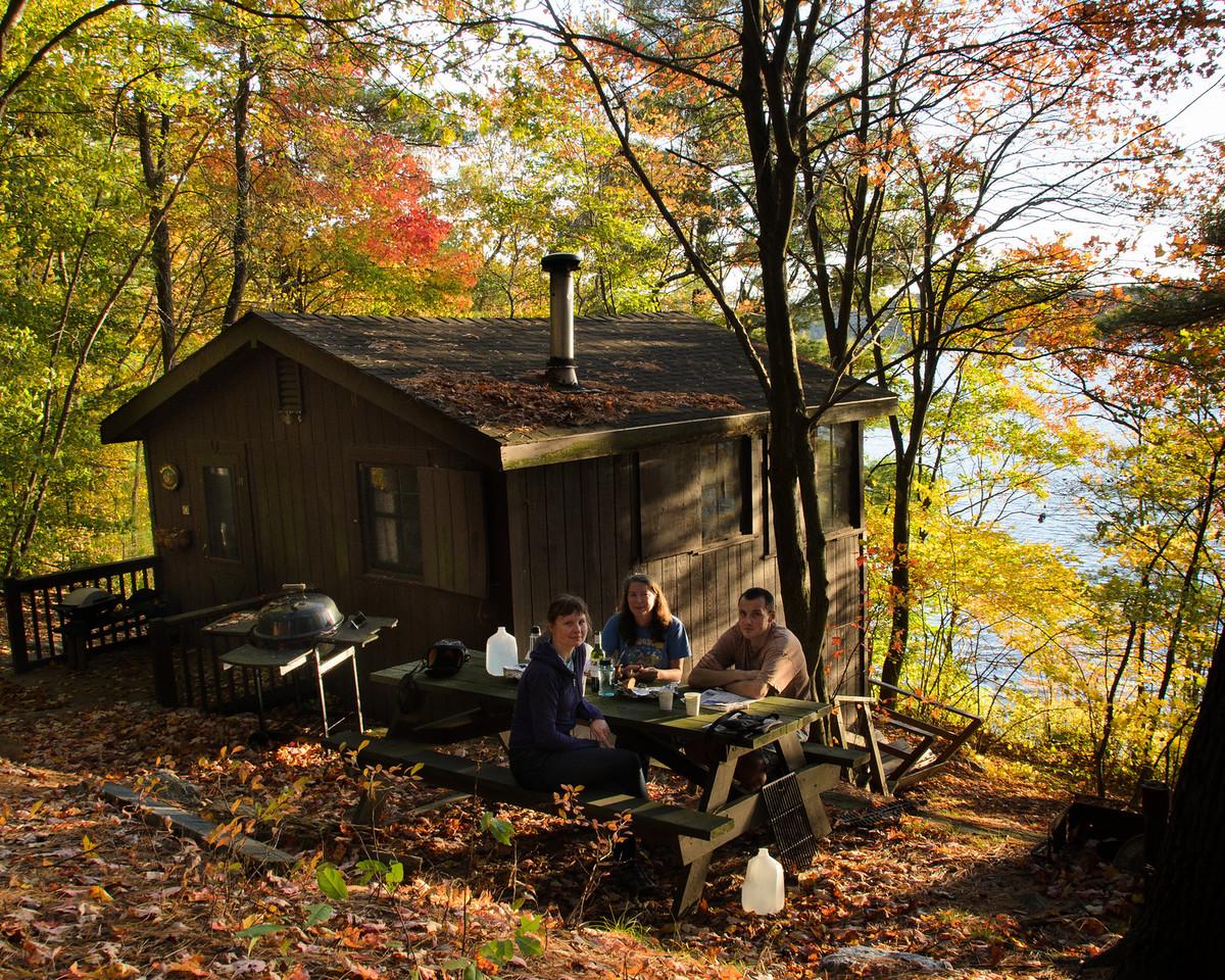 Cabin at Ponkapoag, Blue Hills