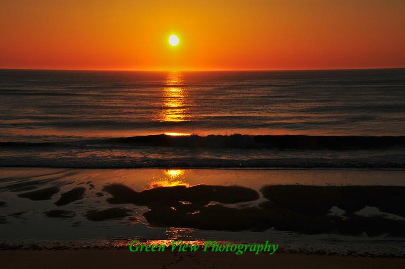 Sunrise on Nauset Light Beach