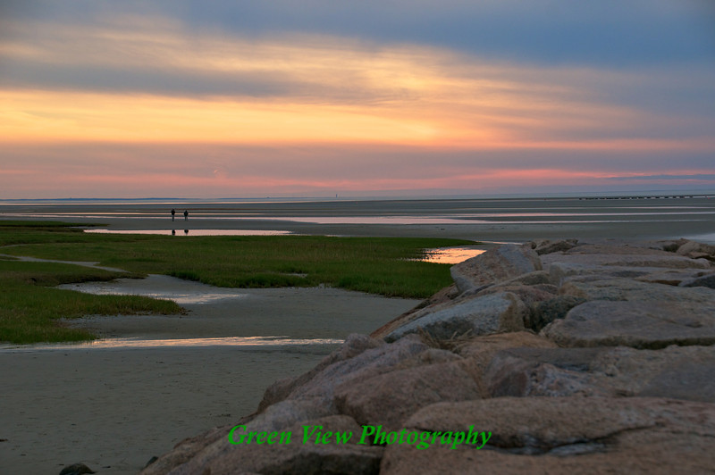 Beautiful sunset - Rock Harbor Beach