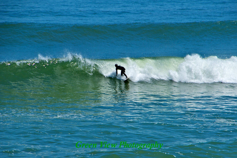 Surfing in May - Marconi Beach