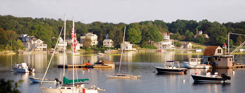 Annisquam Harbor Panorama