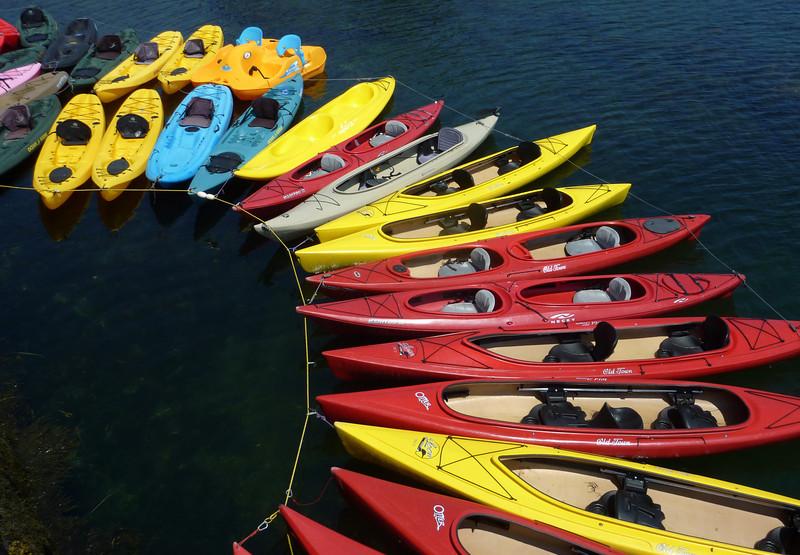 Kayak Rainbow, Rockport